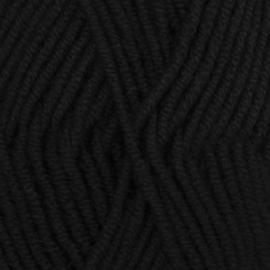 Big Merino Uni 04 zwart