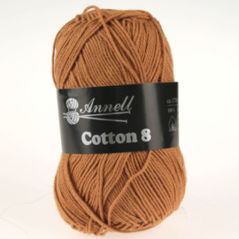 Cotton 8 - 30 lichtbruin