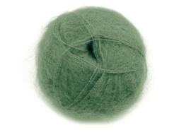 Mohair Brushed Lace - 3028 olijf groen