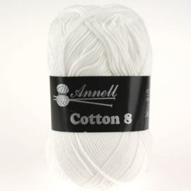 Cotton 8 - 43 puur/zuiver wit
