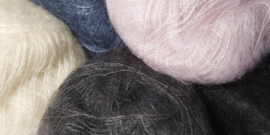 Mohair Brushed Lace