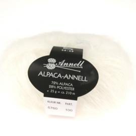 Alpaca-Annell 5760 ecru naturel