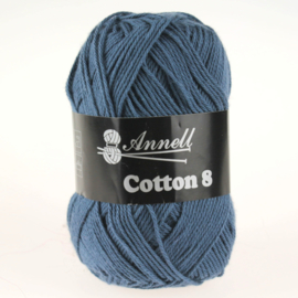 Cotton 8 - 37 denim/blauw