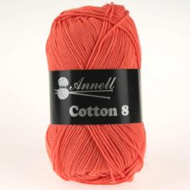 Cotton 8 - 78 zalm/oranje
