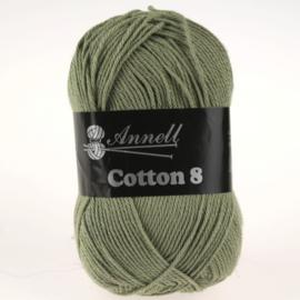 Cotton 8 - 19 olijfgroen