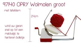 Wolmolen 24 cm OPRY