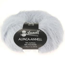 Alpaca-Annell 5756 licht grijs