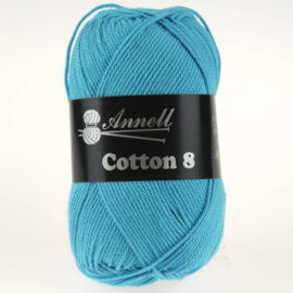 Cotton 8 - 40 turkoois