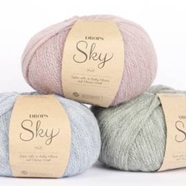 Sky mix 12 denimblauw