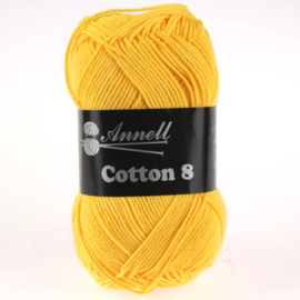Cotton 8 - 05 donkergeel