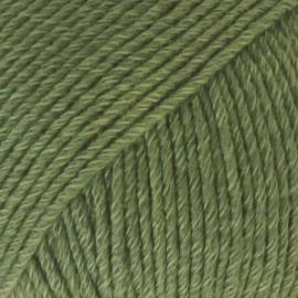 Cotton Merino Uni 11 bosgroen