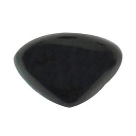 Dierenneuzen - driehoek 5 stuks (zwart) - 10 * 8 mm