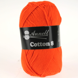 Cotton 8 - 20 oranje