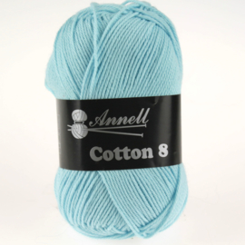 Cotton 8 - 41 babyblauw