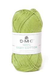 100% Baby Cotton 752 pistache