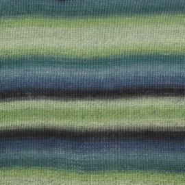 Delight Print 16 groen/blauw