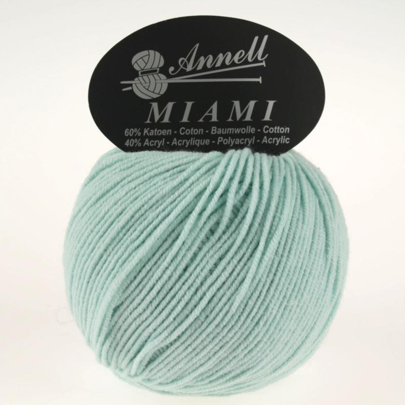 Miami 8922 mint/pastel blauw
