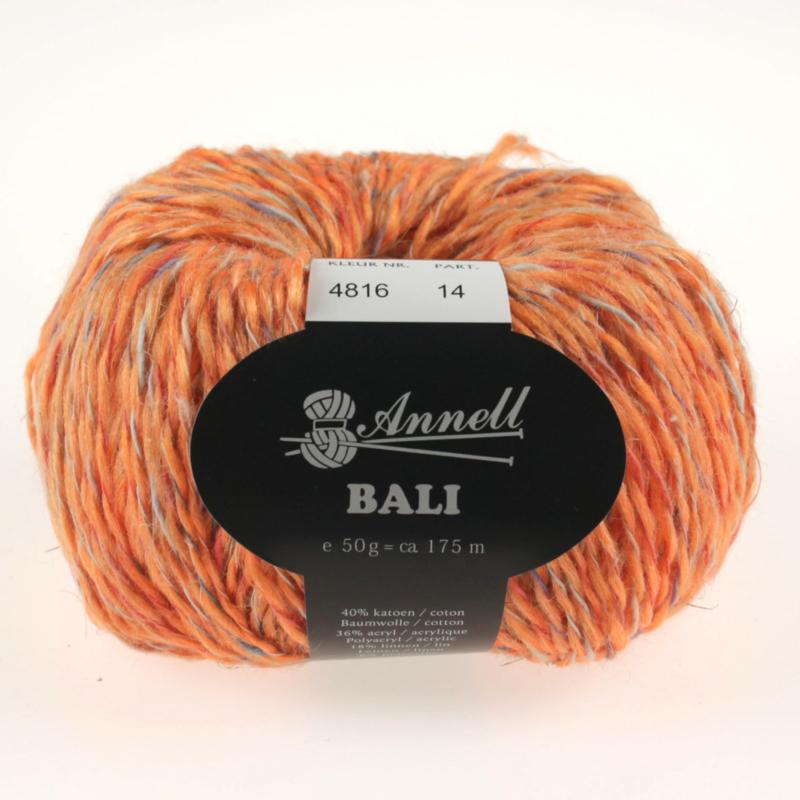 Bali 4816 zalm/roos/oranje