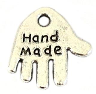 Bedeltje 'Hand Made'