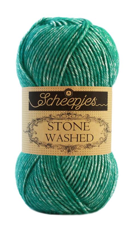 Stone Washed 825 Malachite