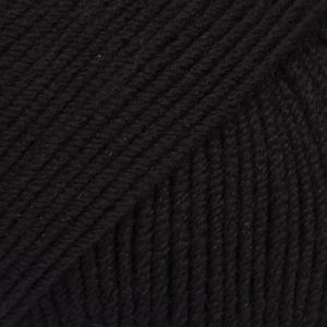 Baby Merino Uni 21 zwart