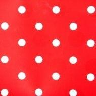 K.K. plakfolie polkadot rood wit stippen