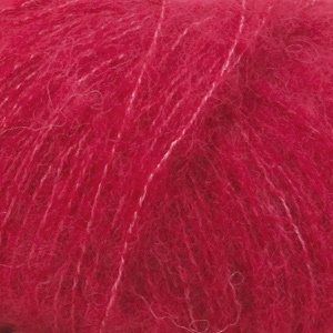 Brushed Alpaca Silk Uni 07 rood