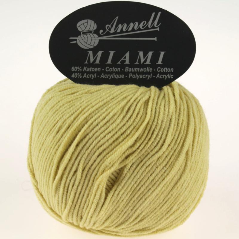 Miami 8944 mosterd/geel