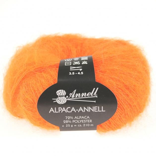 Alpaca-Annell 5721 oranje