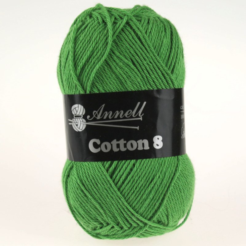 Cotton 8 - 48 groen