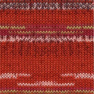 Fabel Print 159 red chili