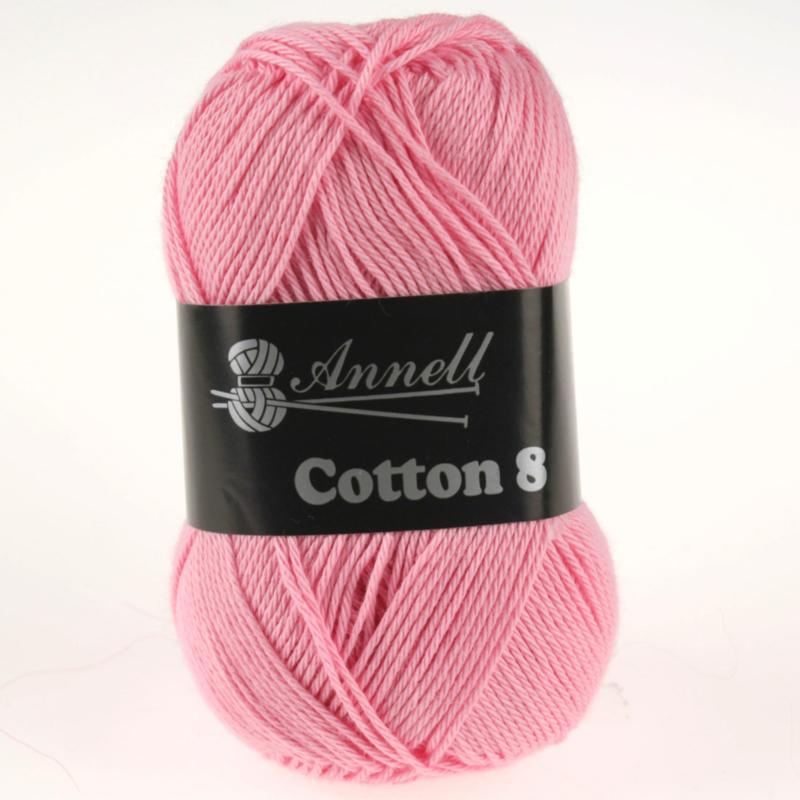 Cotton 8 - 32 roze