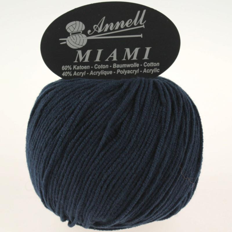 Miami 8926 marineblauw