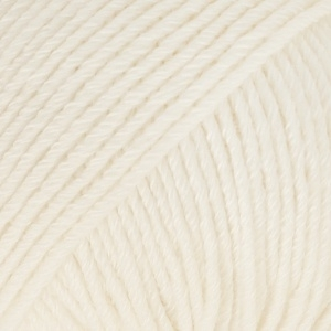 Cotton Merino Uni 01 naturel