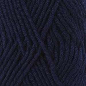Big Merino Uni 17 marineblauw