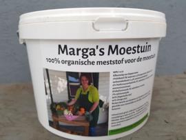 Marga's moestuinmest 2,5kg Organische meststof