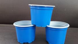 9 cm kweekpotjes blauw