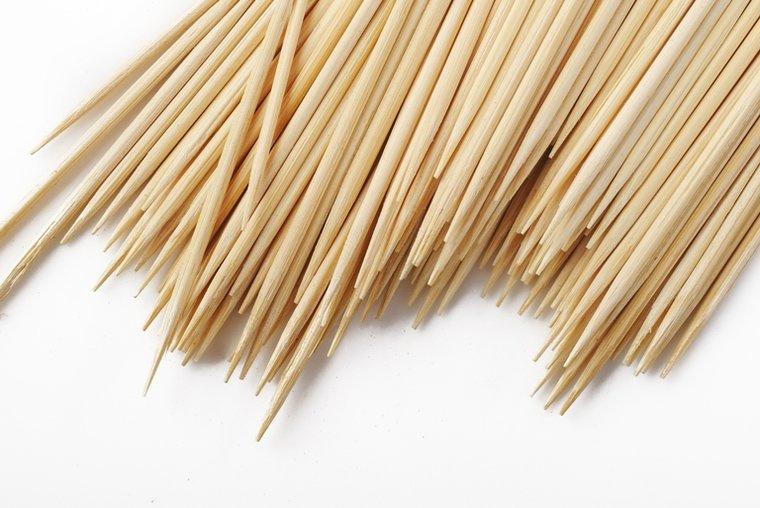 Bamboestokjes 40 cm lang per 25
