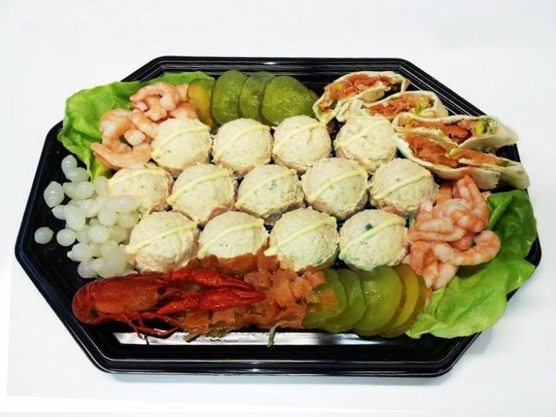 Salade schotel huzaren 4 pers.