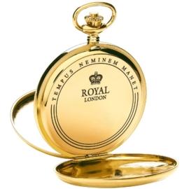 Royal London Dubbele Savonet Goud 53mm Quartz