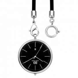Danish Design Stalen Zakhorloge Zwart 47mm Datum Quartz