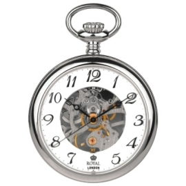 Royal London Skelet Zakhorloge 43 mm Mechanisch
