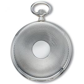 Claude Pascal Echt Zilveren (925) Zakhorloge 48 mm Quartz