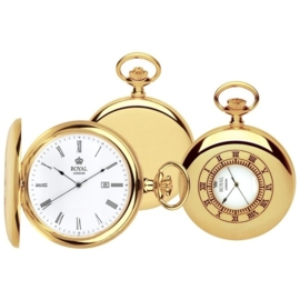 Royal London Skelet Half Hunter Goud 50mm