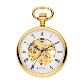 Garonne Skelet Zakhorloge Goud 42 mm Mechanisch