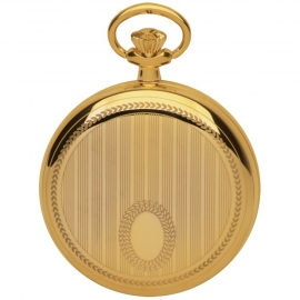 Royal London Striped Cartouche Datum Goud 50mm Quartz