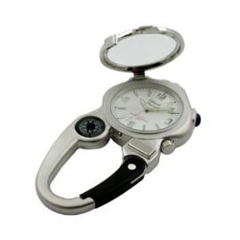 Claude Pascal Cliphorloge Kompas Loep Lampje Wit