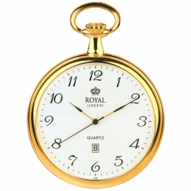 Royal London Zakhorloge Plat Goud 47 mm Quartz Datum