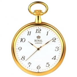 Royal London Zakhorloge Plat Goud 47 mm Quartz