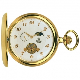 Royal London Half Hunter Open Heart 50mm Mechanisch